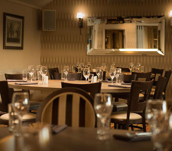Dining at the White Swan