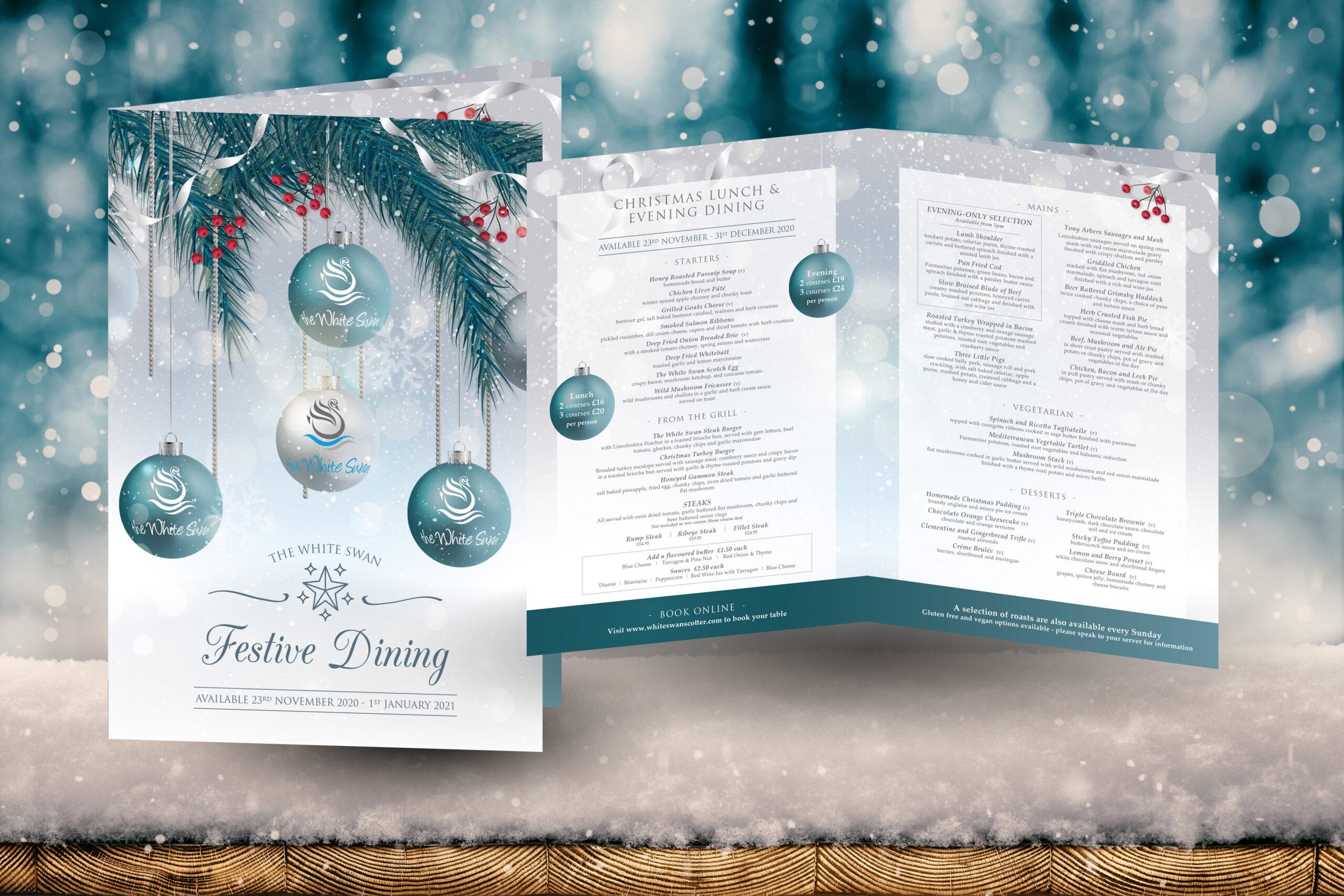 The White Swan Christmas Brochure