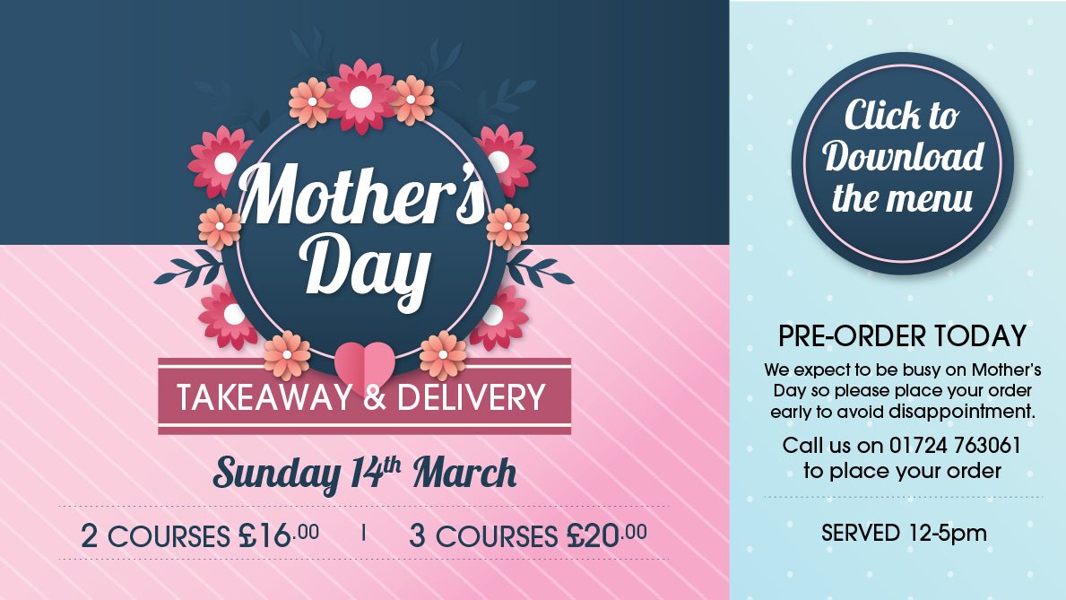Mother's Day Takeaway and Delivery
